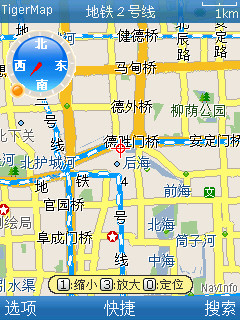 诺基亚NCD火热推荐GPS地图定位软件-老虎地图 V3.5版 For S60V5